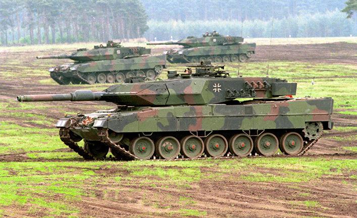 Боевой танк Leopard 2A5.