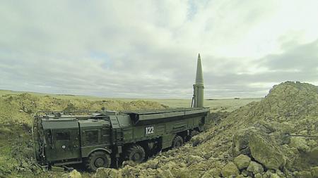 Боевые возможности ОТРК раскрыты сегодня далеко не полностью. Фото с сайта Министерства обороны РФ