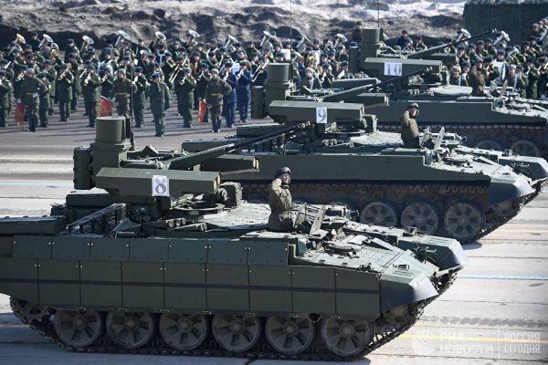 Боевые машины поддержки танков БМПТ