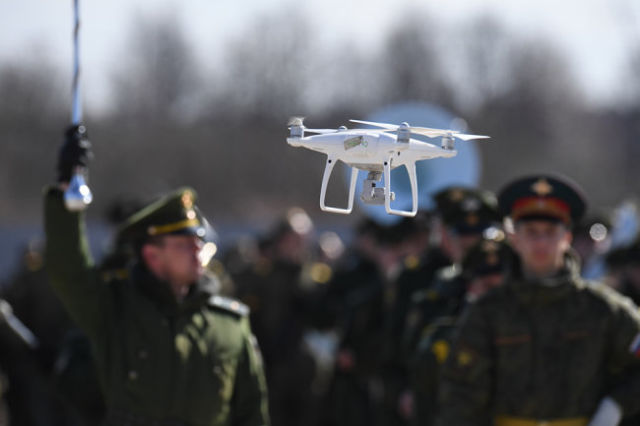 Квадрокоптер в ВС РФ