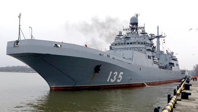 Большой десантный корабль Иван Грен (проект 11711).