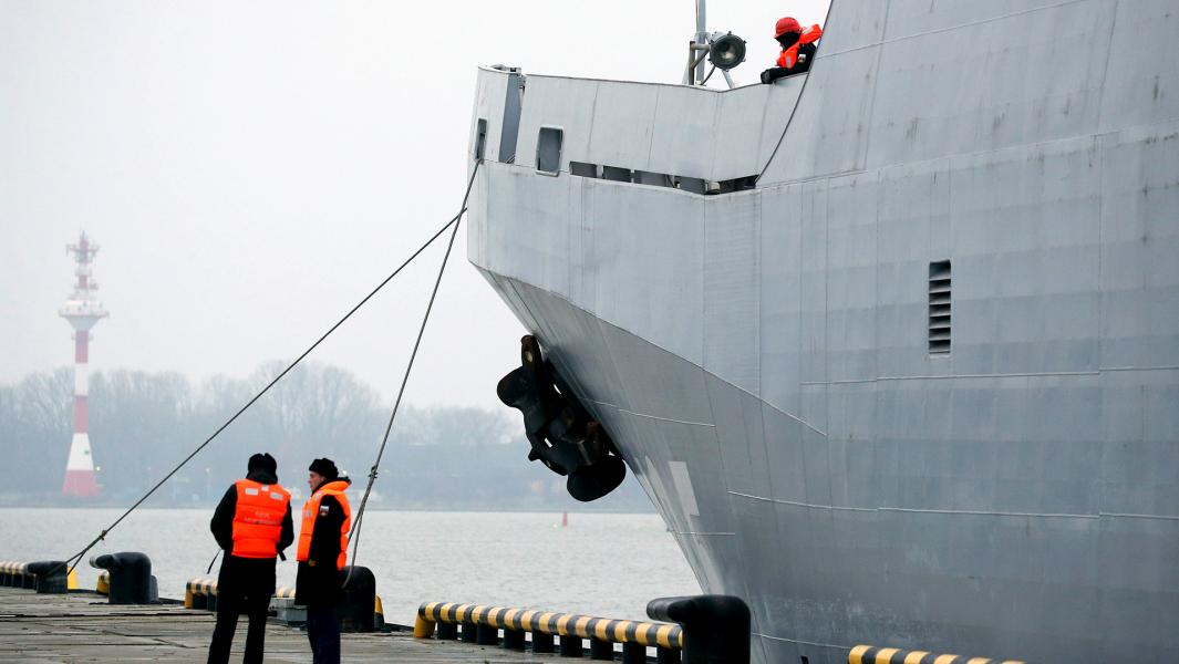 Большой десантный корабль проекта 11711.