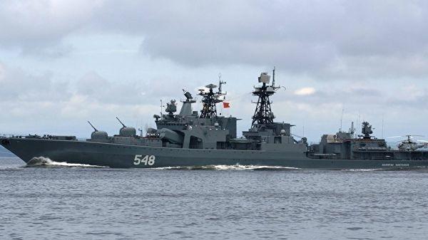 """Большой противолодочный корабль """"Адмирал Пантелеев"""""""