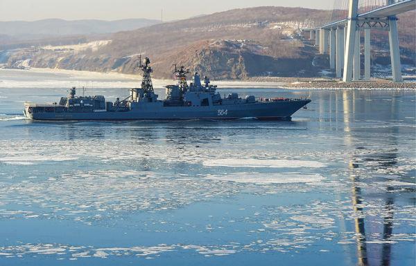 """Большой противолодочный корабль """"Адмирал Трибуц"""""""
