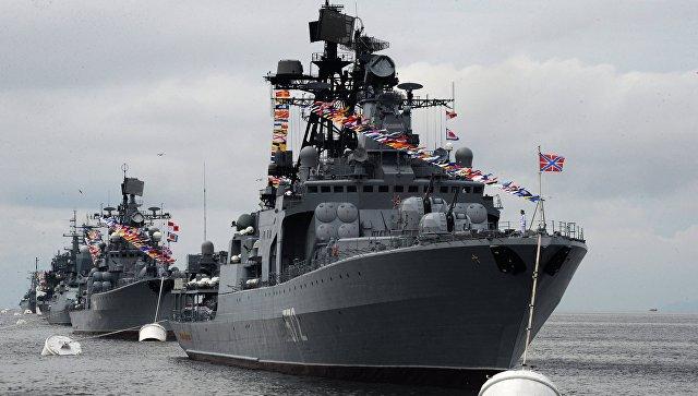 Большой противолодочный корабль Адмирал Виноградов.