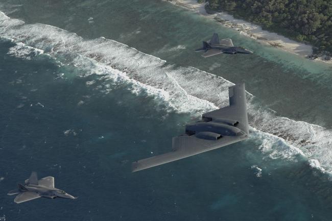 Бомбардировщик B-2 Spirit.