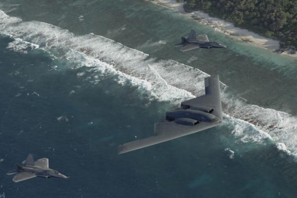 Бомбардировщик B-2 Spirit