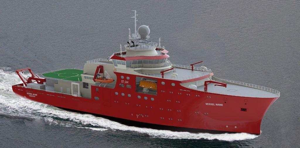 Заказанное для ВМС Перу испанской судостроительной компании Construcciones Navales P. Freire антарктическое полярное исследовательское судно по программе Buque Oceanografico Polar (BOP).