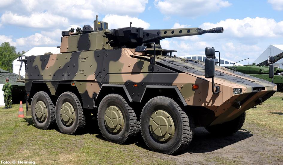 Rheinmetall MAN Military Vehicles Boxer 8x8