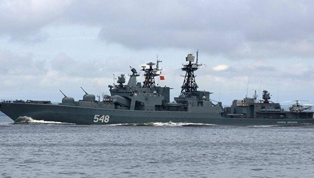 БПК Адмирал Пантелеев. Архивное фото.
