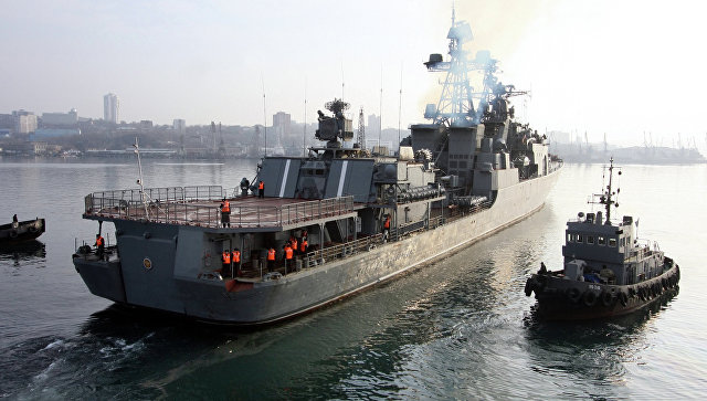БПК Адмирал Виноградов. Архивное фото.