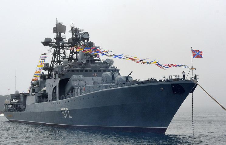 "Большой противолодочный корабль ""Адмирал Виноградов""."