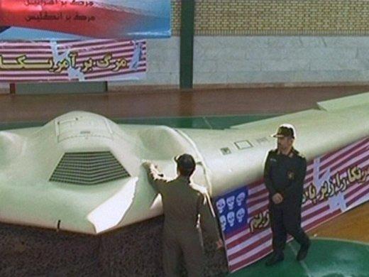 БПЛА RQ-170, сбитый силами иранской ПВО.