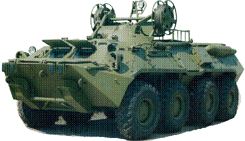 """Боевая разведывательная машина БРЭМ-К """"ГАЗ-59033"""""""