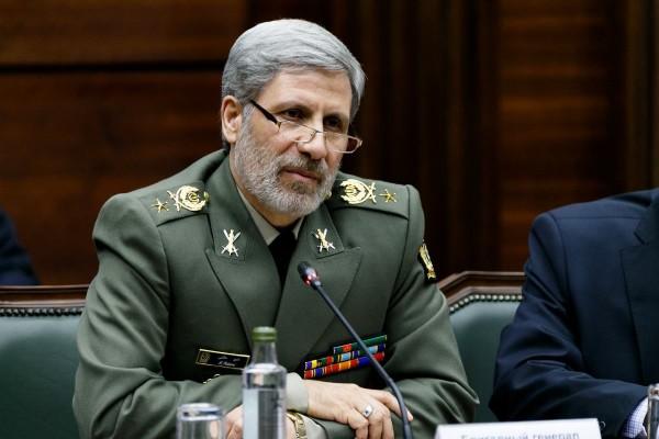 Министр обороны и тылового обеспечения Исламской Республики Иран бригадный генерал Амир Хатами.