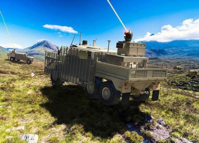 Британцы разработают демонстраторы наземных и корабельных лазерных установок