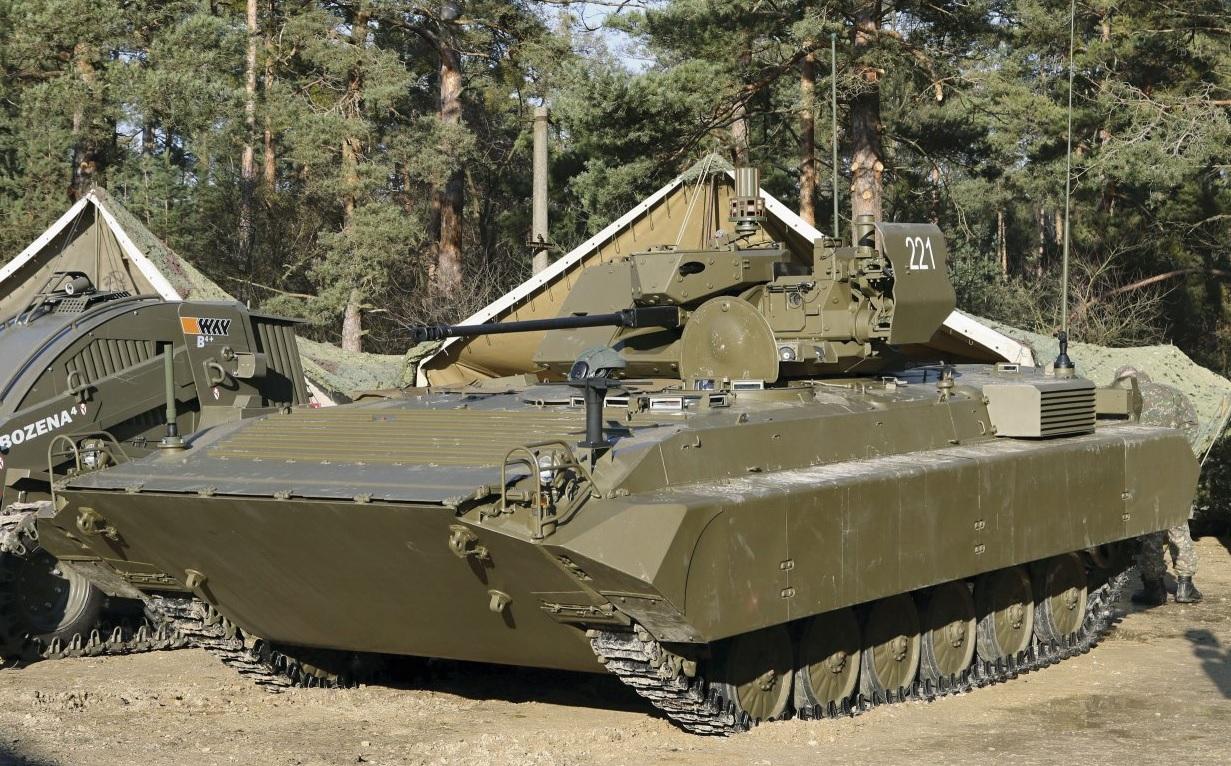 Словацкая модернизированная боевая разведывательная машина Bojove Prieskumne Vozidlo ISTAR (BPsVI).