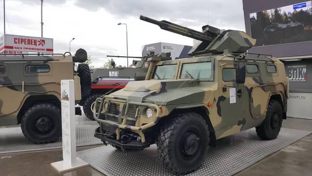 """Бронеавтомобиль """"Тигр-М"""" с 30-мм дистанционно-управляемым боевым модулем"""