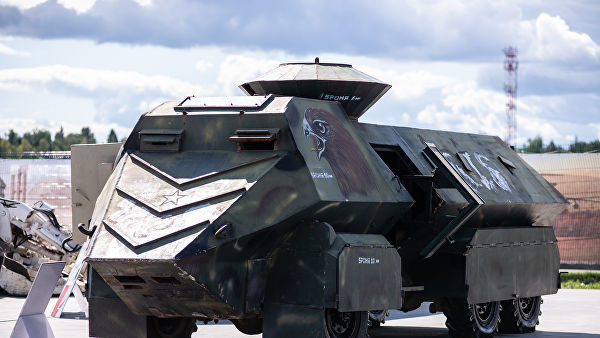 Бронеавтомобиль YPG Eagle Head