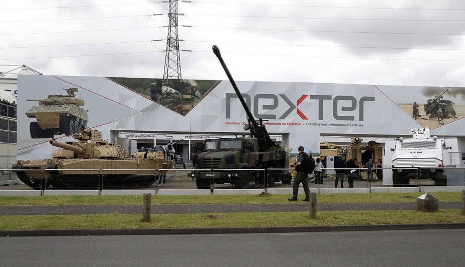 Бронетехника от Nexter, представленная в рамках выставки Eurosatory.