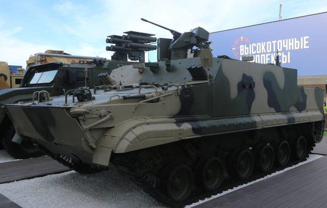 Бронетранспортер БТ-3Ф с пулеметом калибра 12,7 мм