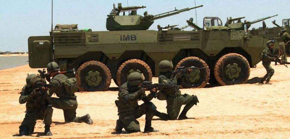 Бронетранспортеры VN1 (ZBL09/ZBD09) китайского производства на оснащении морской пехоты Венесуэлы.
