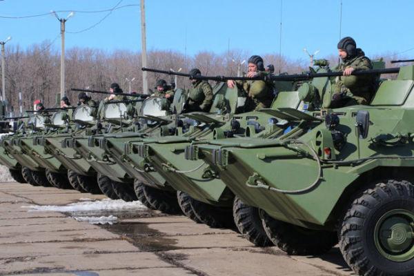 Бронетранспортеры БТР-82А