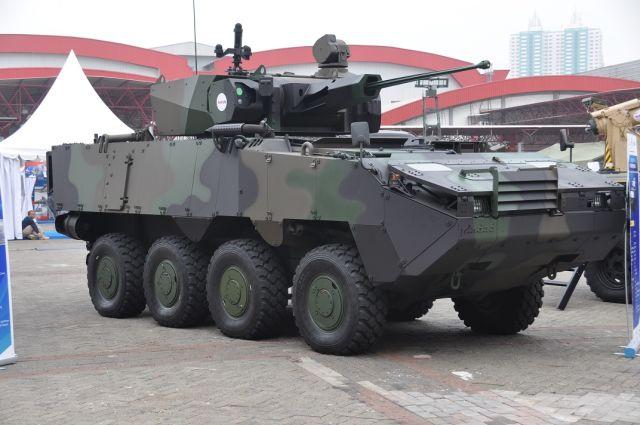 Бронированная машина (бронетранспортер) Pandur II