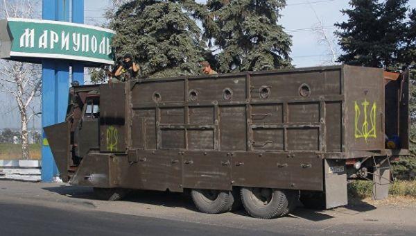 Бронированный грузови