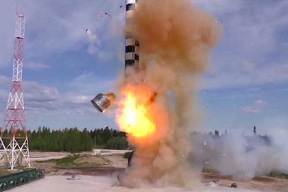 Бросковые испытания МБР РС-28 «Сармат»