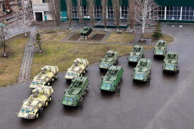 БТР-4 для Национальной гвардии Украины.