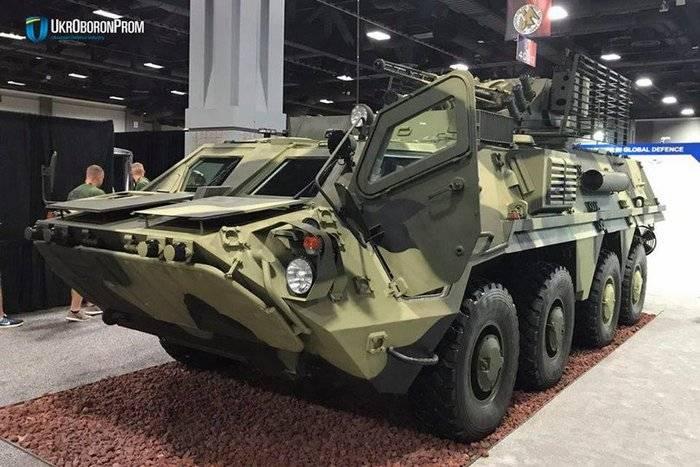 """Украинский БТР-4 на международной выставке вооружений """"AUSA-2017"""" (""""Association of the US Army"""") в столице США Вашингтоне."""