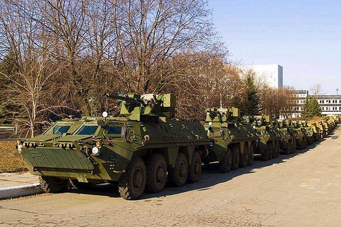 Бронетранспортер БТР-4 — 8x8 (Украина).