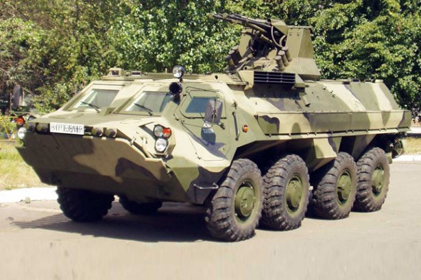 Украинский бронетранспортер БТР-4.