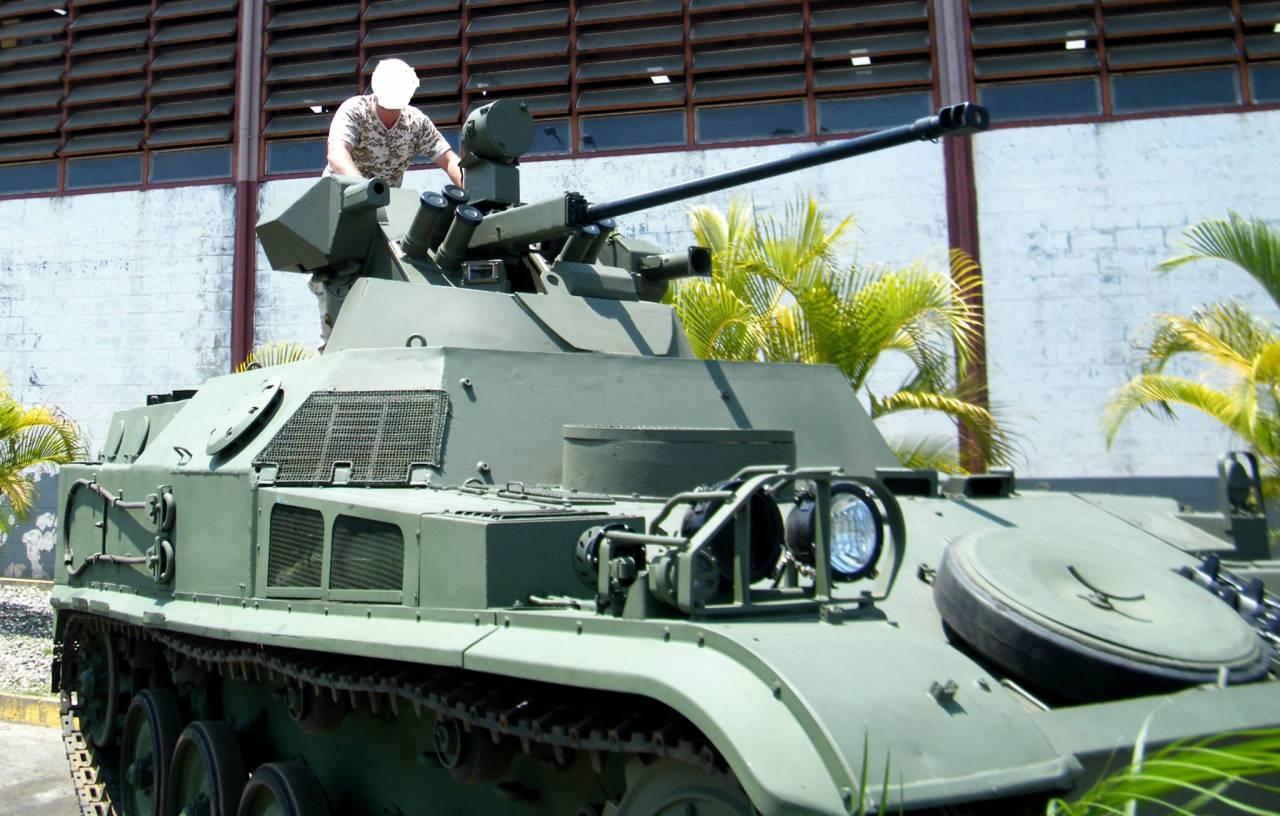 БТР AMX-VCI ВС Венесуэлы с российским боевым модулем МБ2-04.