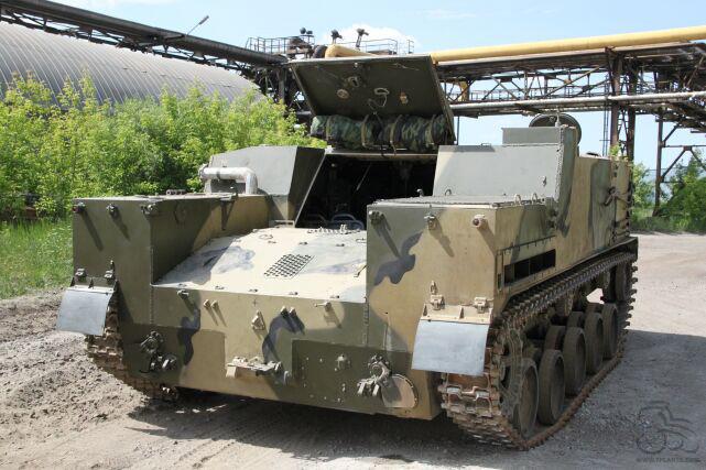 Модернизированный многоцелевой десантный бронетранспортер БТР-МДМ.