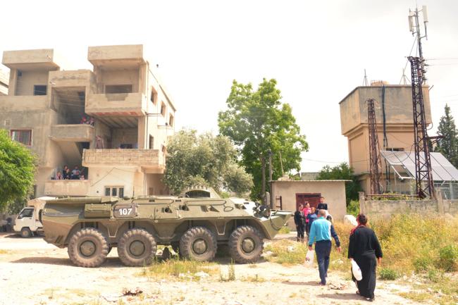 БТР-80УП, Багдад.