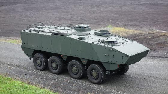 Прототип-демонстратор БТР