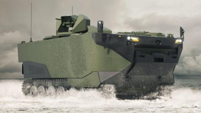БТР (Marine Assault Vehicle - MAV) Zaha