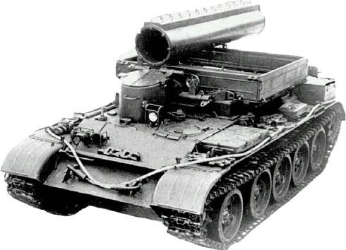 Гусеничный бронированный тягач БТС-4