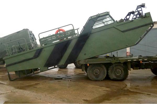 Буксирно-моторный катер БМК-МТ