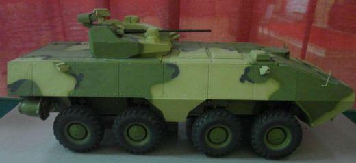 Сборная модель Zvezda БТР М3 Скаут 3519