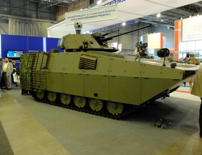 Словацкая боевая машина пехоты BVP-M2 SKCZ.