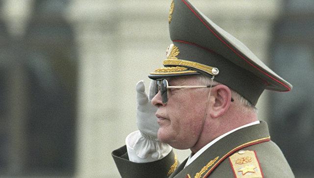 Бывший министр обороны России Игорь Сергеев. Архивное фото.