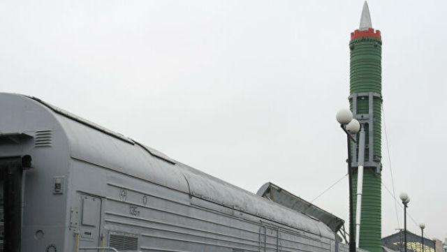 БЖРК в экспозиции музея Октябрьской железной дороги на бывшем Варшавском вокзале в Санкт-Петербурге