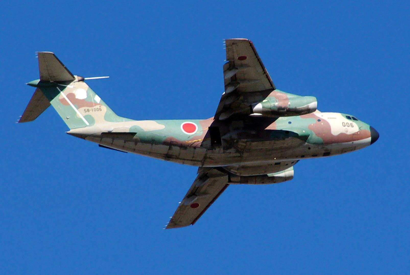 C-1A Военно-транспортный самолет средней дальности разработанный фирмой Kawasaki для Воздушных сил самообороны Японии.