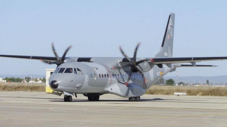 Военно-транспортный самолет C-295 ВВС Польши.