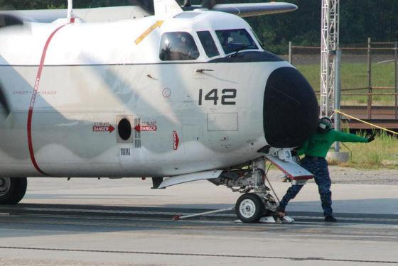 Транспортник C-2A Greyhound