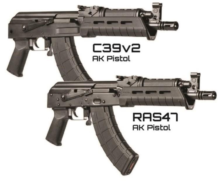 Автоматы C39v2 AK Pistole и RAS47 AK Pistole