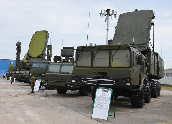 ЗРС С-400 на ТВМ-2014